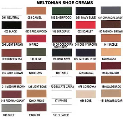 Meltonian Shoe Cream Wax Free